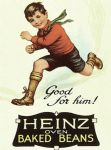 Heinz Beans Good For Him Vintage Style Metal Wall Sign Plaque 15X20cm